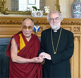 Rowan Williams and the Dalai Lama